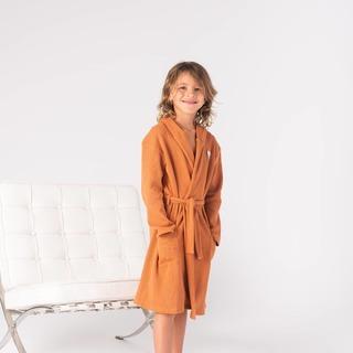 Pre Order Terre and Sand Robe.  Link in bio.  #robe #kidsrobe #aaronandnoraaclothing #lifeofaaronandnoraa #stayhomewithaaronandnoraa