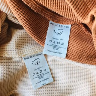 Look how well made our garments are, 100% cotton and Made in Indonesia. #localbusiness #proudlyindonesian  #cottonfiber